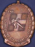 Swiss stone throwing medal, Schweizermeisterschaft Steinstossen (clasp) *[14821]