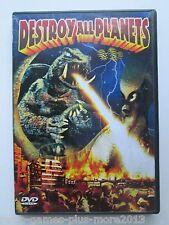 Gamera - Destroy All Planets (DVD, 2003) Used (Region 1 NTSC)