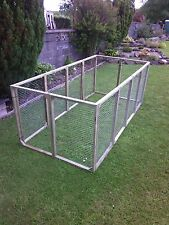 9 aviary panels for chicken run kennel ducklings rabbits guinea cat dog  pets