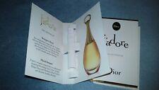 Christian Dior J'adore  Eau De Parfum Fragrance Spray Sample 2x 0.03fl oz./1ml
