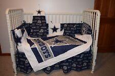 Crib Bedding Nursery Set Made W Dallas Cowboys