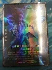 Jemial, Cryptic Caster Argent Saga Full Art Foil Stamped 0206/1000