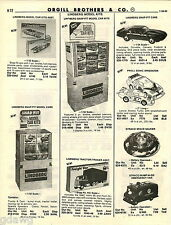 1982 ADVERT Lindberg Toy Car Truck Proll Speedsters Straco Space Saucer Jak Pac
