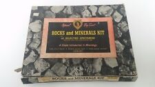 Vintage Official Boy Scout Rocks and Minerals Kit BSA