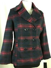 "Rampage ""Navy Plaid"" Peacoat Size XL NWT"