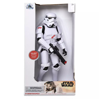 Star Wars Official Disney Store Talking Stormtrooper Action Figure 34cm Tall