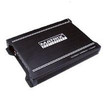 MATRIX AUDIO VX2000.2 AMP CAR STEREO AUDIO 2000W POWER 2 CHANNEL AMPLIFIER NEW