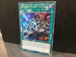 Carte Yu-Gi-Oh! Tourne Page Toon TOCH-FR004 VF Ultra Rare lot collection yu gi