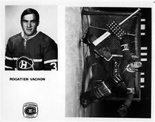 Rogatien Vachon Montreal Canadiens Unsigned Media 8x10 Photo