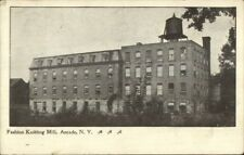 Arcade NY Fashion Knitting Mill c1910 Postcard
