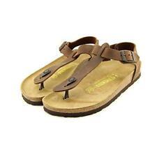 Birkenstock Flip Flops 100% Leather Upper Shoes for Women