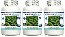 3x Candida Cleanse Pills Yeast Balance Fungus Detox Thrush Digestive Probiotic