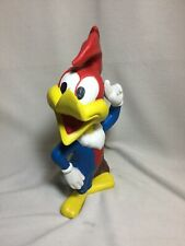 Vintage 1975 Walter Lantz Woody Woodpecker Ceramic Painted Statue Figure