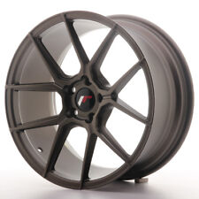 "Un Cerchio in Lega Japan Racing JR30 18"" x 8.5"" ET40 5x112 Bronzo OPACO Bronze"