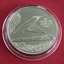 GUATEMALA 1995 HUMMING BIRD SILVER PROOF PATTERN 1 QUETZAL