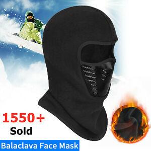 Winter Balaclava Full Face Mask Outdoor Windproof Fleece Ski Bicycle Ninja Mask