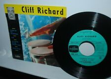 Cliff Richard, Bongo Blues, SUPER 45 rpm EP record, FRANCE, pic sleeve