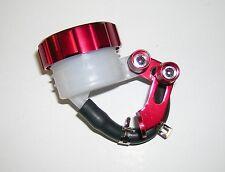 I Serbatoio vaschetta olio Pompa Freno Standard in Alluminio Colore Rosso
