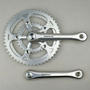 VTG Sugino AT 28/45/50 Triple Crankset 170mm Square Taper Aluminum Alloy Japan