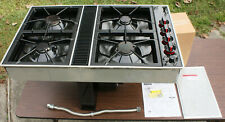 Jenn-Air Expressions CVG2420B Downdraft Cooktop for Natural Gas / Propane -black