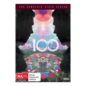 The 100: Season 6 DVD (3 Disc Set) Brand New Region 4 Aust. - Eliza Taylor