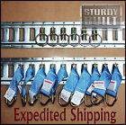 16pcs 10x E Track Tie Off & 6x E Track Ring Enclosed Trailer Truck Cargo Van