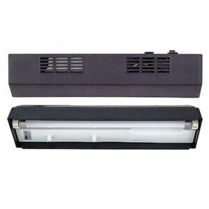 """Aqueon 20"""" Fluorescent Black Strip light Fits 10 gallon Aquraiums"""