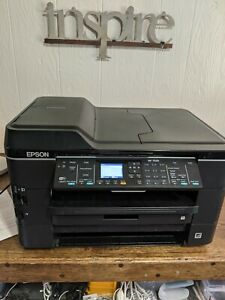Epson Workforce WF-7520 Wide Format 11x17 All-In-One Inkjet Printer for REFURB