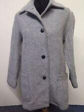 Vintage Genuine Burberry Wool jacket coat XS UK 8/10 Euro 36-38 in Grey