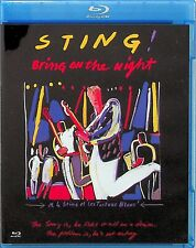 STING -Bring On The Night Film, Solo Tour 1985 Blu Ray *NEW (Live/The Police)