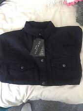 New Look black denim shirt (NEW )  Long Sleeve
