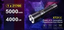 Klarus XT21X 4000 lumens 315 Meter 21700 Rechargeable Tactical Flashlight