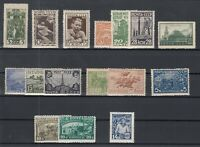 BR6790/ RUSSIA – 1925 / 1934 MINT MH SEMI MODERN LOT – CV 250 $