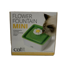 New listing Catit Mini Fountain Filter 1.5 Liter Cat Water Dish (Preowned/Store Return/Works