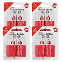 Circuit City D-Cell Enhanced Performance Alkaline Batteries  (8 Pack)