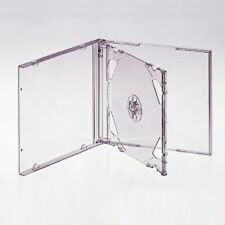 5 CLEAR DOUBLE JEWEL CD Cases (New)