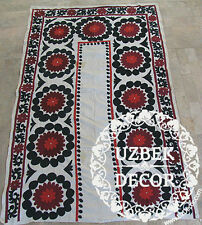 UZBEK SILK HAND EMBROIDERED SUZANI JOYPYSH # 8490