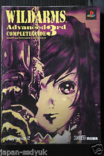 Wild Arms 3 Advanced 3rd Complete Guide manga book OOP