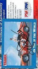 Richard Petty Signed 1991 Traks Psa/dna Autograph Authentic