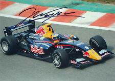 Jean Eric Vergne firmato 7x5, Formula Renault 3.5, Team Red Bull/Carlin 2011