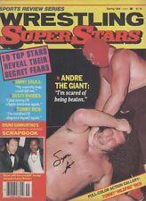 EB626 Masked Superstar signed vintage wrestling magazine w/COA **BONUS** nwa wwf