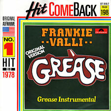 FRANKIE VALLI Grease PICTURE SLEEVE 45 vinyl record + juke box title strip NEW
