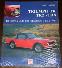 Bilband: Triumph Tr 2 3 3A 4 4A 5 6 7 8 Die Automobili e Tue Storia 1953-1981