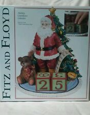 Brand New Unopened Musical Advent Countdown Calendar Fitz and Floyd Santa