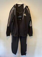 Adidas Tracksuit Full Mens Running Athletics Training Top = XL, Trousers= M