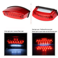 Motorcycle 21 LED Rear Tail Brake Stop Light Lamp For Cafe Racer Chopper Bobber