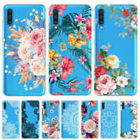 For Samsung Galaxy A20E A40 A50 A70 Painted Slim Silicone Soft TPU Case Cover
