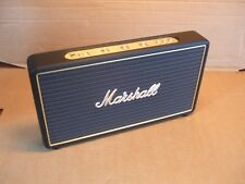 Marshall Stockwell Black Rechargeable Bluetooth Speaker FREE UK DELIVERY