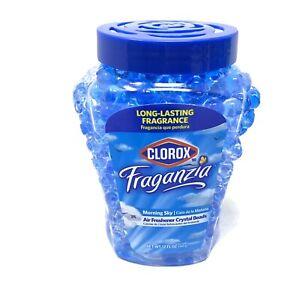 Clorox Fraganzia Morning Sky Air Freshener Crystal Beads 12 Fl Oz