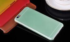 Calidad duro caso cubierta ultra delgada para Apple iPhone 4s 5s 5c 6 Plus